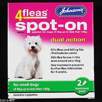 Johnson's 4 Fleas Spot On Small Dog 100mg