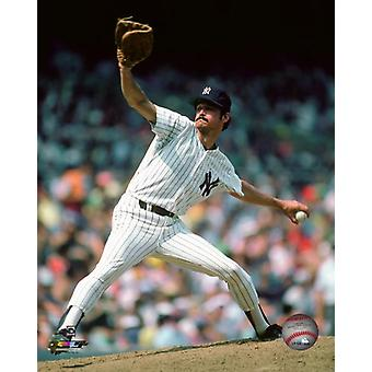 Ron Guidry Action Photo Print