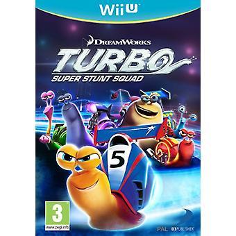 Turbo Super Stunt Squad (Nintendo Wii U) - New