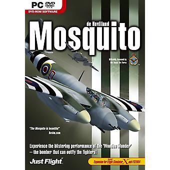 Mosquito-lisäosa FS 2004FSX:lle (PC DVD) - Uusi