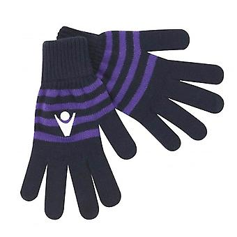 2013-15 Scotland Macron Rugby Winter Wool Gloves (Navy)