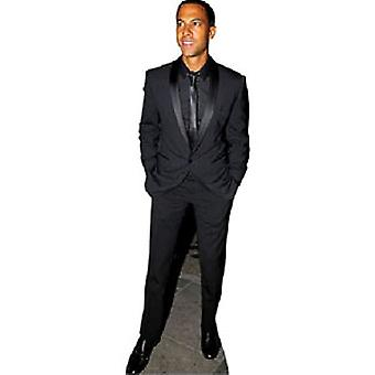 Marvin Humes JLS Lifesize karton gestanst