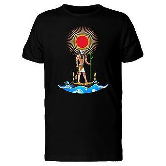 Ägyptischen Ra Sonnengott T-Shirt Herren-Bild von Shutterstock