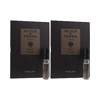 Acqua Di Parma 'Colonia Oud' Eau De Cologne Concentrate 1.5ml ( Pack OF 2)