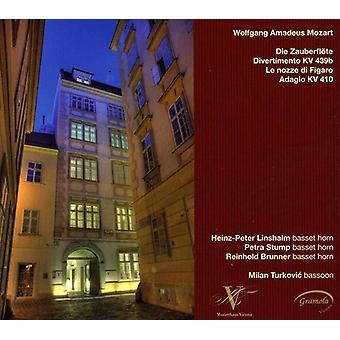 W.a. Mozart - Mozart: Die Zauberfl Te; Divertimento, Kv 439B; Le Nozze Di Figaro; Adagio, Kv 410 [CD] USA import