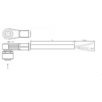 Złącze czujnika/wzbudnika TE Connectivity 1-2273012-3 (pre-Fab) gniazdo M8, prawy kąt 5 m nr. szpilki (RJ): 3 1 szt.