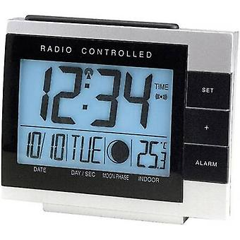 Techno Line 02335 WS 8055 Radio Alarm clock Silver-black