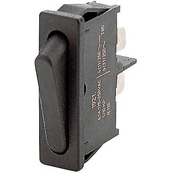 Marquardt Toggle switch 1901.1101 250 V AC 6 A 1 x Off/On latch 1 pc(s)