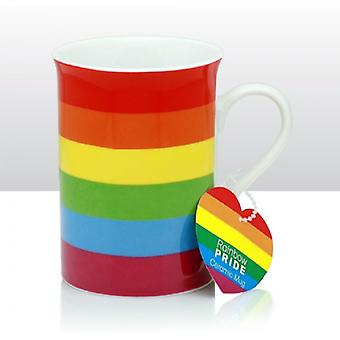 Union Jack Wear Gay Pride Rainbow Mug