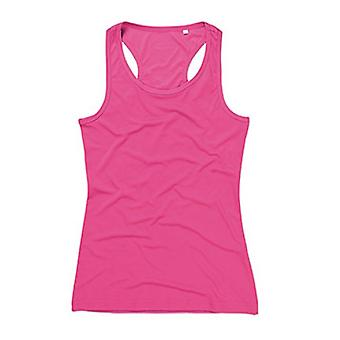 Stedman Womens/Ladies Active Poly Sleeveless Sports Vest