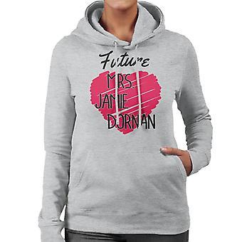 Tulevaisuuden jäsen Jamie Dornan Naisten huppari