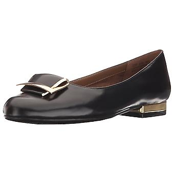 Aerosoles Womens Good Times Deri Kapalı Toe Loafers