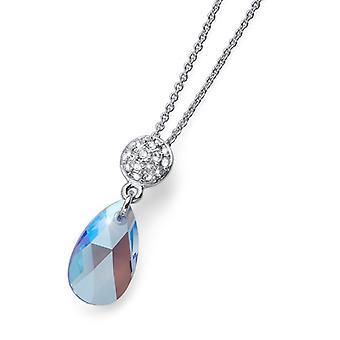 Oliver Weber pendentif Shimmer Rhodium