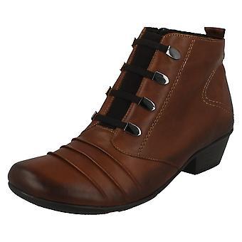 Mesdames Remonte élastiquée lacet cheville Boot D7381