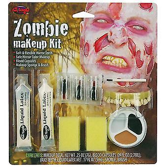 Zombie Make Up Kit mâle.