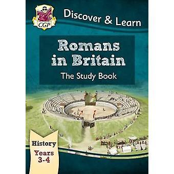 KS2 Oppdage & lære - historie - romerne i Storbritannia studie bok - året 3