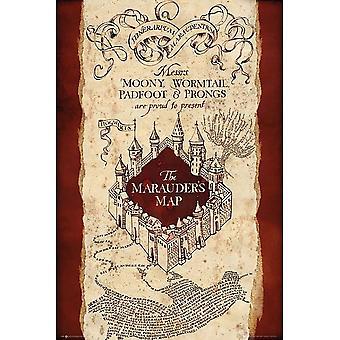 هاري بوتر خريطة اللصوص ملصق