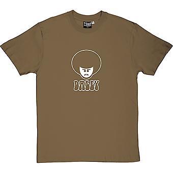 Daley Thompson Military Green Men's T-Shirt