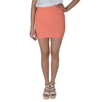 Lovemystyle Peach Highwaisted Bandage Bodycon Skirt - SAMPLE