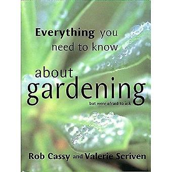 Everything You Need to Know About Gardening But Were Afraid to Ask