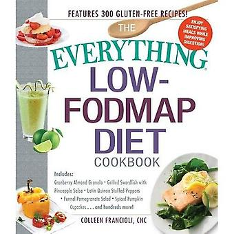 The Everything-� Low-FODMAP Diet Cookbook: Includes: ��� Cranberry Almond Granola ��� Grilled Swordfish with Pineapple...