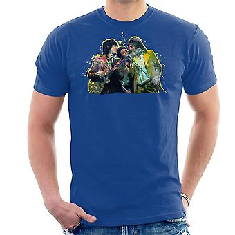 TV Times Rod Stewart With The Faces And Ronnie Wood Men's T-Shirt