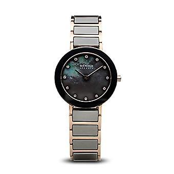 ברינג קוורץ נשים שעון אנלוגי עם חגורת נירוסטה 11429-769