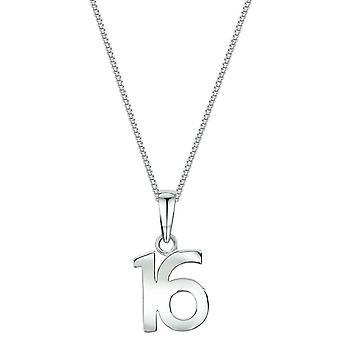 Bella 16 Pendant - Silver