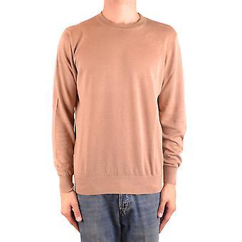 Brunello Cucinelli Ezbc002046 Hombres's Suéter de Lino Beige