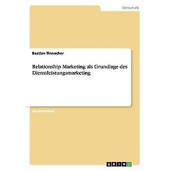 Förhållandet marknadsföring als Grundlage des Dienstleistungsmarketing av Tinnacher & Bastian