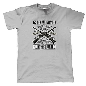Hunt Or Be Hunted Mens T-Shirt - Hobbies Gift Him