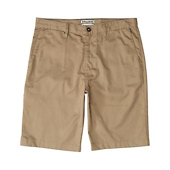 Billabong Carter Chino Shorts in Light Khaki
