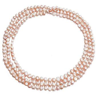 Pearls of the Orient Cultured Freshwater Pearl Loop Necklace - Pink