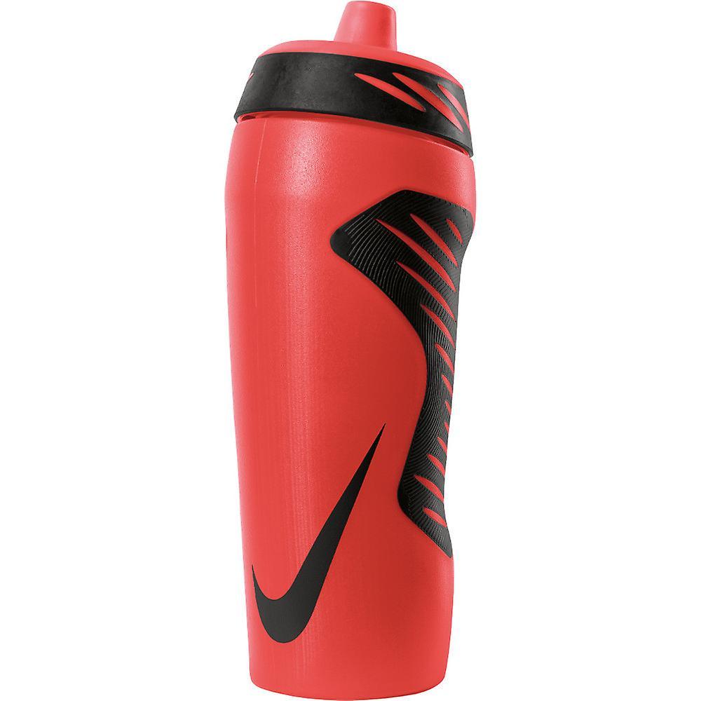 532 ml Nike Hyperfuel Ergonomic Water Bottle in Pink and White 18 oz