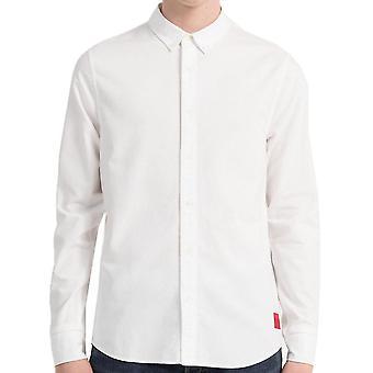 Calvin Klein Jeans Mens Slim Oxford Cotton Shirt