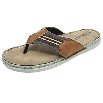 Adventure Country Men's Summer Toe Post Sandals