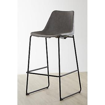 Fusion Living Ash Vintage Bar Stool