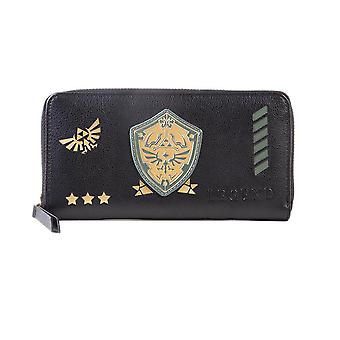 The Legend of Zelda Link's Shield Zip-Around Purse