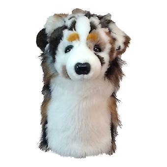 Daphnes Australian Shepherd Dog Golf Driver Kopfbedeckung