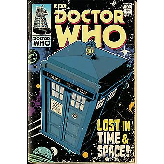 Doctor Who Tardis Comic Maxi Poster 61x91.5cm