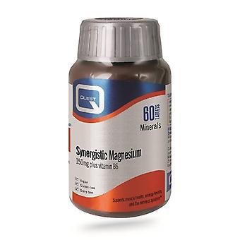 Quest Vitamins Synergistic Magnesium Tabs 60 (601389)