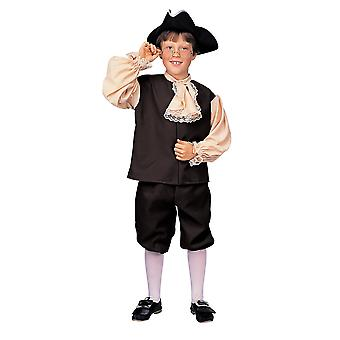 Colonial Boy Victorian Olden Day Pilgrim Historical Book Week Child Boys Costume