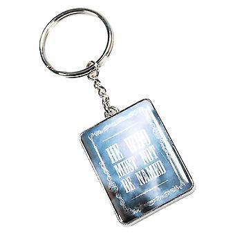 """هاري بوتر حلقة مفاتيح فولدمورت """"سلسلة المفاتيح المعدنية"""" الجديدة الرسمية"""