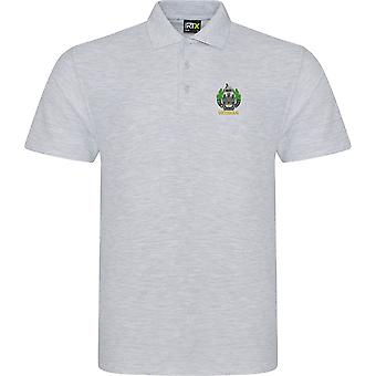 Essex Regiment veteran-licensierad brittisk armé broderad RTX Polo