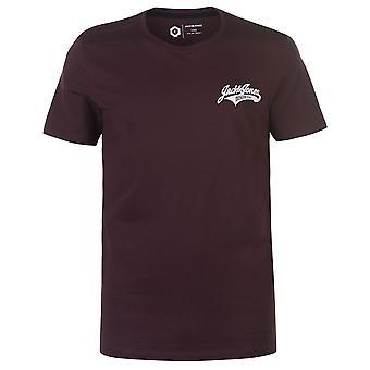 Jack och Jones män Core Heritage T shirt Crew hals T-shirt tee Top