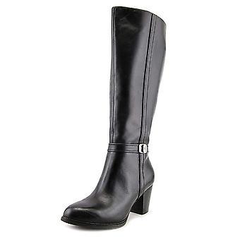 Giani Bernini Womens ravien Leather Closed Toe Knee High Fashion Boots