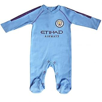 Manchester City Sleepsuit 6/9 mths PL