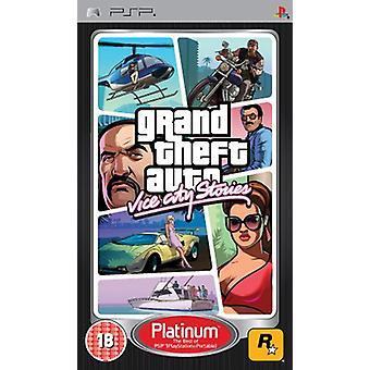 Grand Theft Auto Vice City Stories (PSP)-nytt