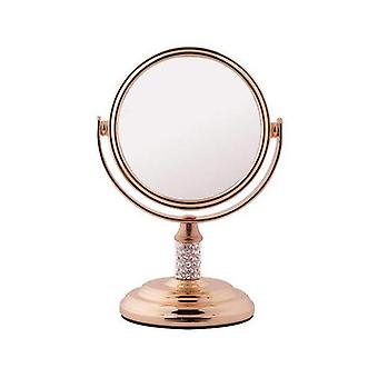 FMG Mini Mirror 5x Magnification - Rose Gold