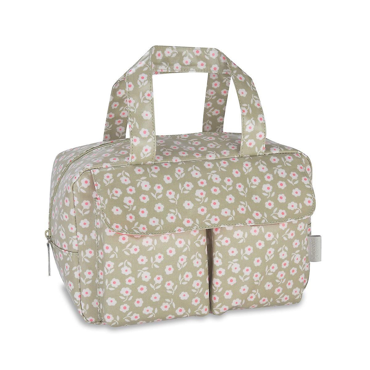 'daisy' carry all wash bag - sage